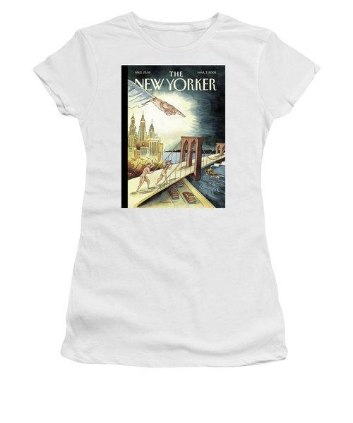 New Yorker March 7, 2005 Women's T-Shirt
