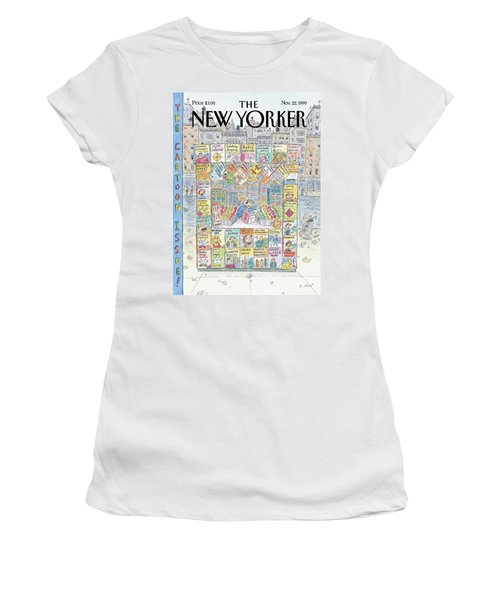 New Yorker November 22nd, 1999 Women's T-Shirt
