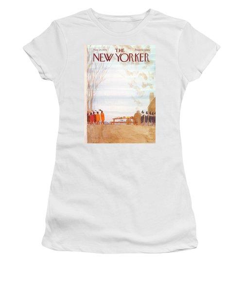 New Yorker November 25th, 1974 Women's T-Shirt