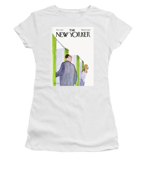 New Yorker November 4th, 1972 Women's T-Shirt