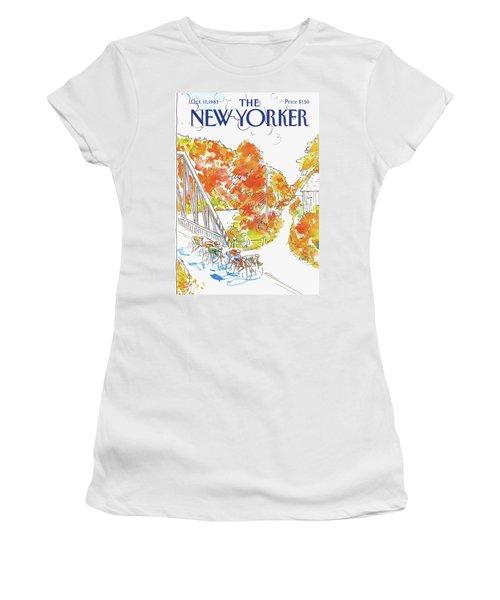 New Yorker October 17th, 1983 Women's T-Shirt
