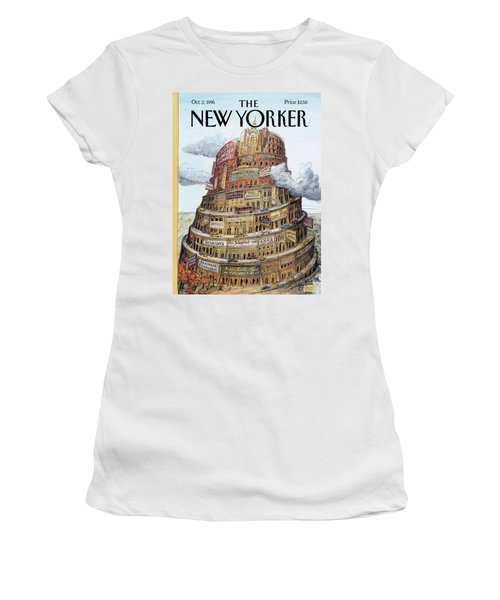 New Yorker October 2nd, 1995 Women's T-Shirt