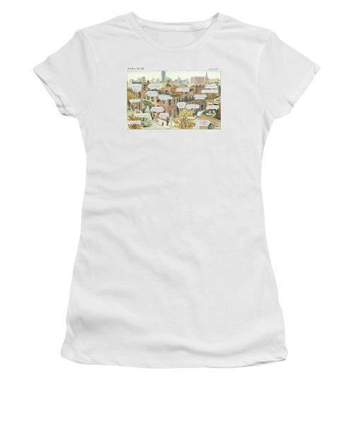 New Yorker October 2nd, 2000 Women's T-Shirt