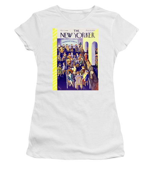 New Yorker October 5 1940 Women's T-Shirt (Athletic Fit)