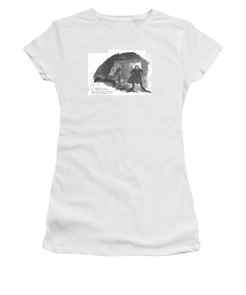 Night Watch Boy! There'll Be No Pearl Harbor Women's T-Shirt