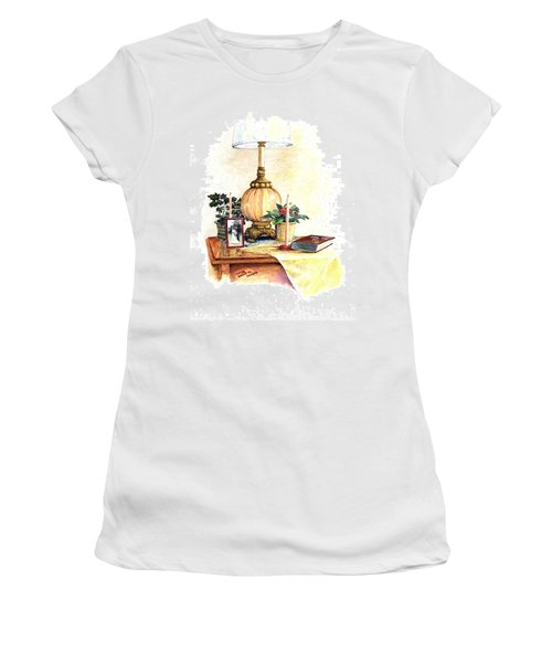 Nightstand Women's T-Shirt (Athletic Fit)