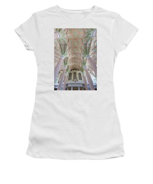 Nikolaikirche Leipzig Women's T-Shirt (Athletic Fit)