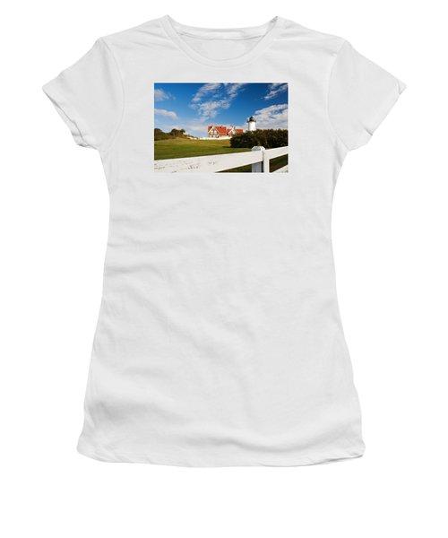 Nobska Point Lighthouse Women's T-Shirt