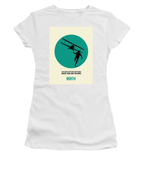 North By Northwest Poster 1 Women's T-Shirt