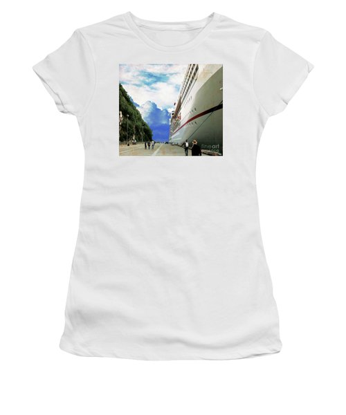 North To Alaska Women's T-Shirt (Athletic Fit)