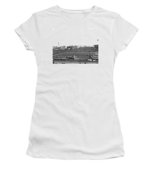Notre Dame-army Football Game Women's T-Shirt (Junior Cut) by Underwood Archives