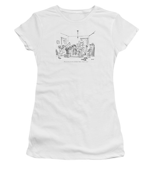 Now, Last Time, Near The End Of Ravel's 'bolero,' Women's T-Shirt