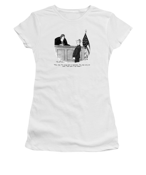 Now That I've Swung Back To Depression Women's T-Shirt
