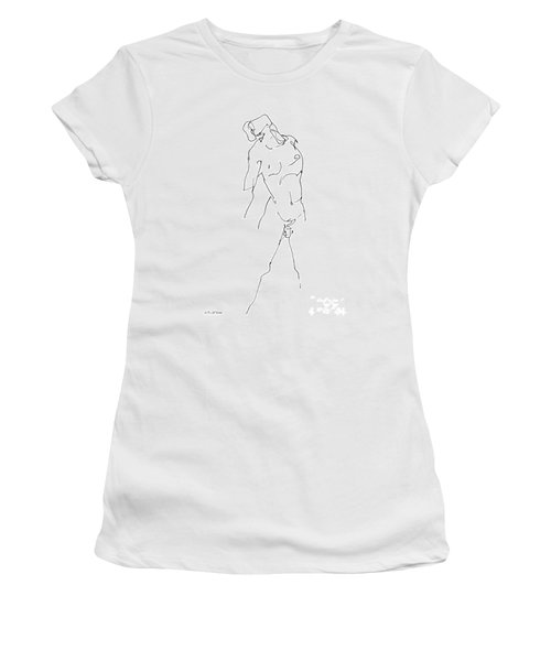 Nude-male-drawing-11 Women's T-Shirt