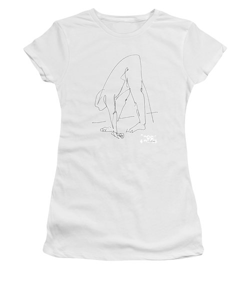 Nude Male Drawings 32 Women's T-Shirt