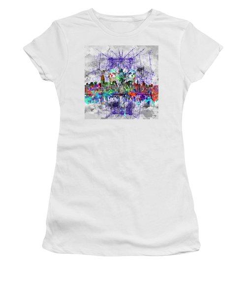 Nyc Tribute Skyline 4 Women's T-Shirt