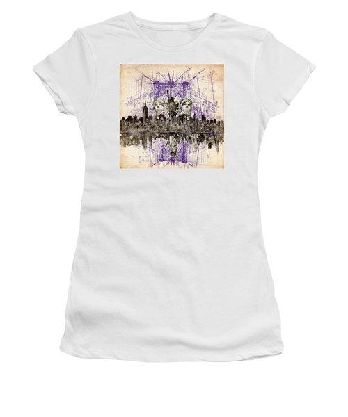 Nyc Tribute Skyline 5 Women's T-Shirt