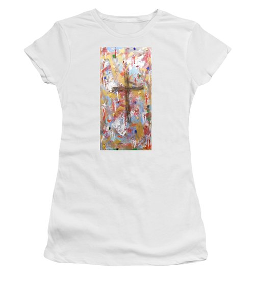 Oh Heavenly Father Women's T-Shirt (Athletic Fit)