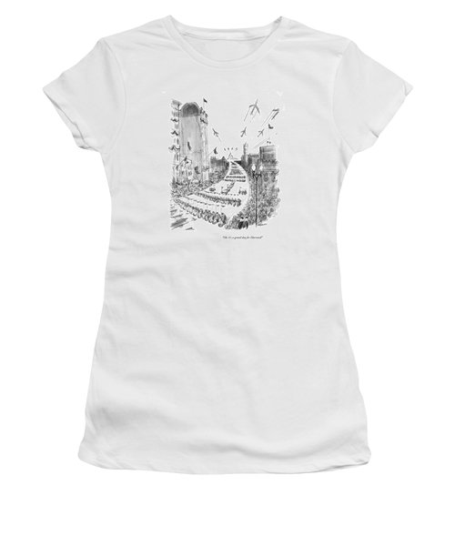 Oh, It's A Grand Day For Harvard! Women's T-Shirt