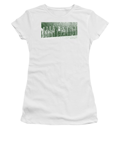 Women's T-Shirt (Junior Cut) featuring the photograph Old Coke Bottles by Greg Reed