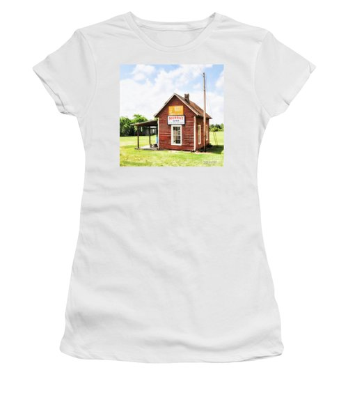 Old Country Cotton Gin Store -  South Carolina - I Women's T-Shirt (Athletic Fit)