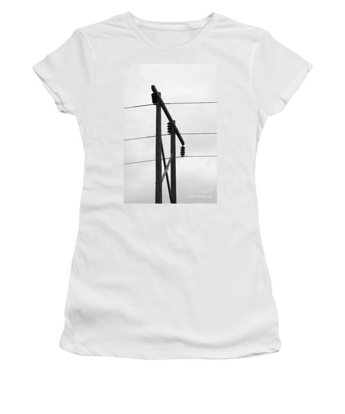 Old Country Power Line Women's T-Shirt (Athletic Fit)