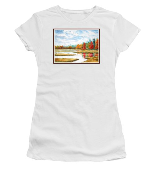 Old Forge Autumn Women's T-Shirt (Athletic Fit)