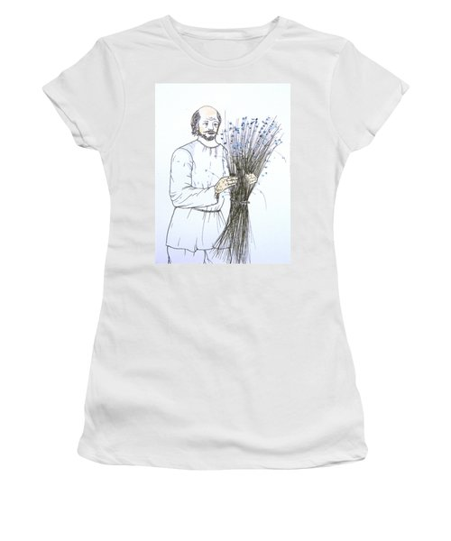 Old Man And Flax Women's T-Shirt (Athletic Fit)