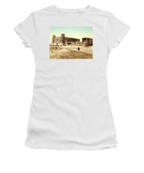 Old Mission Church At Acoma Women's T-Shirt