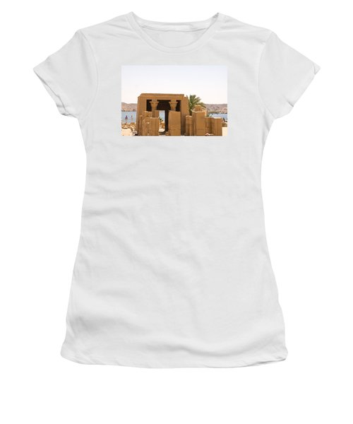 Old Structure 2 Women's T-Shirt (Athletic Fit)