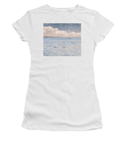 On A Summer's Breeze Women's T-Shirt