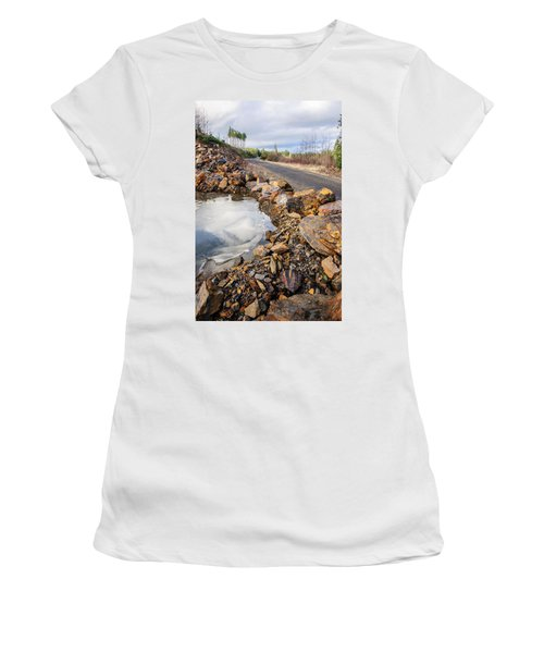 On Frozen Pond Collection 6 Women's T-Shirt