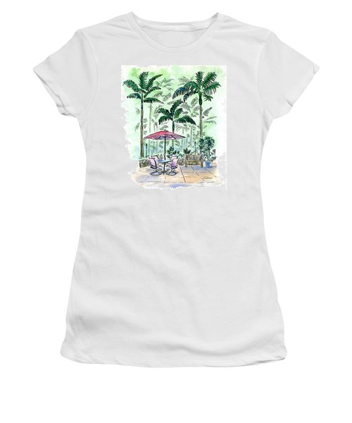 On The Lanai Women's T-Shirt