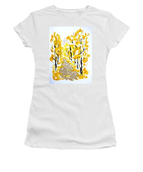 On The Way To School Women's T-Shirt (Athletic Fit)