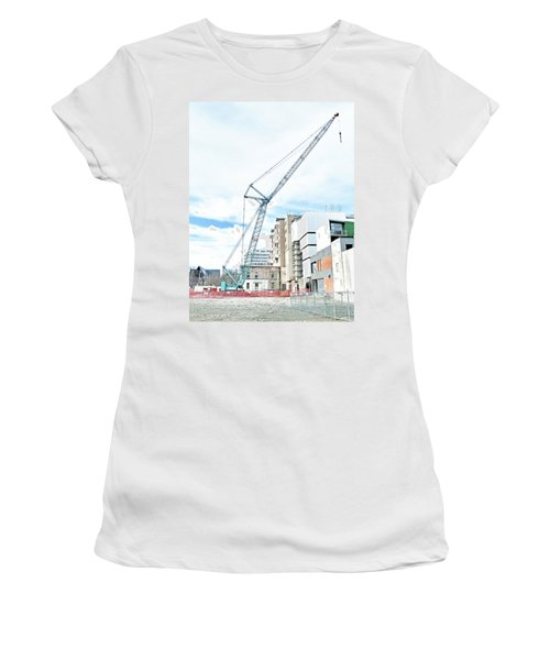 On Tiptoes Women's T-Shirt (Athletic Fit)