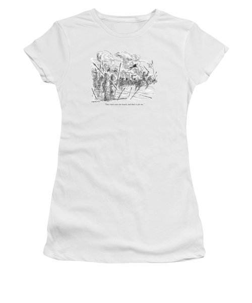 Once More Unto The Breach Women's T-Shirt