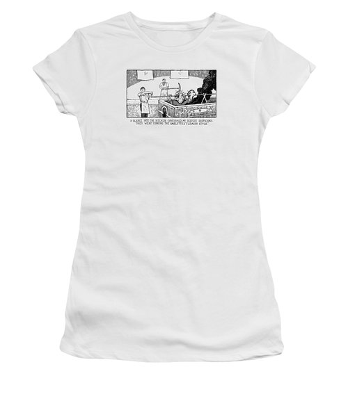 One Glance Into The Kitchen Confirmed My Deepest Women's T-Shirt