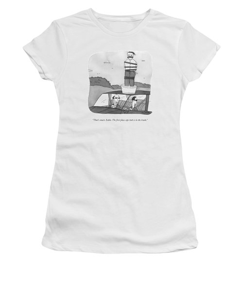 One Mafioso In A Car Speaks To Another Women's T-Shirt