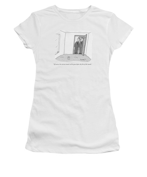 One Room Of An Office Is Full Of Quicksand Women's T-Shirt