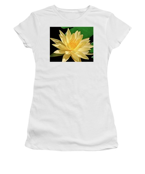 One Water Lily  Women's T-Shirt (Athletic Fit)
