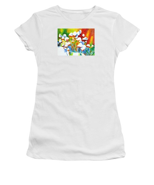 Opposites Attract Women's T-Shirt (Junior Cut) by Kathy Braud