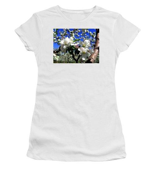 Orchard Ovation Women's T-Shirt (Junior Cut) by Will Borden