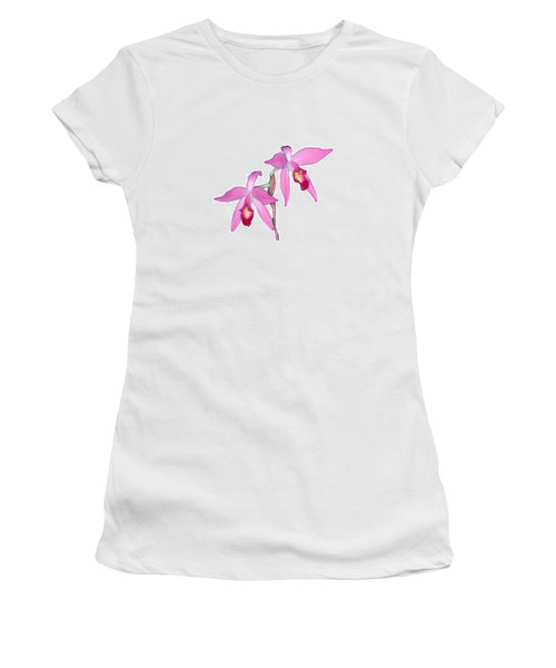 Orchid 1-1 Women's T-Shirt (Athletic Fit)