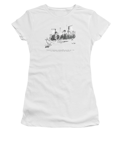 Ordinarily, I Lean Toward A Land-based-mx System Women's T-Shirt