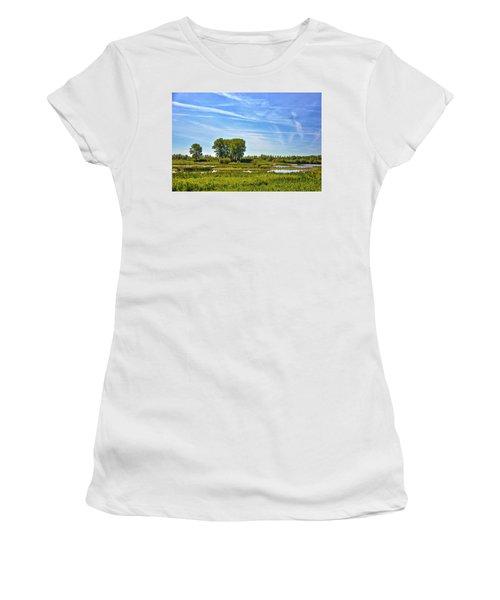 Ossenwaard Near Deventer Women's T-Shirt (Athletic Fit)
