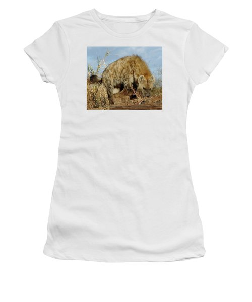 Out Of Africa Hyena 1 Women's T-Shirt (Athletic Fit)