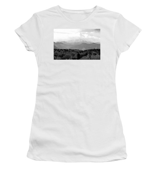 Over The Hills To Pikes Peak Women's T-Shirt (Athletic Fit)