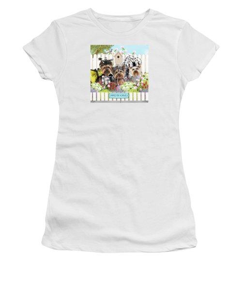 Owned By Yorkies II Women's T-Shirt