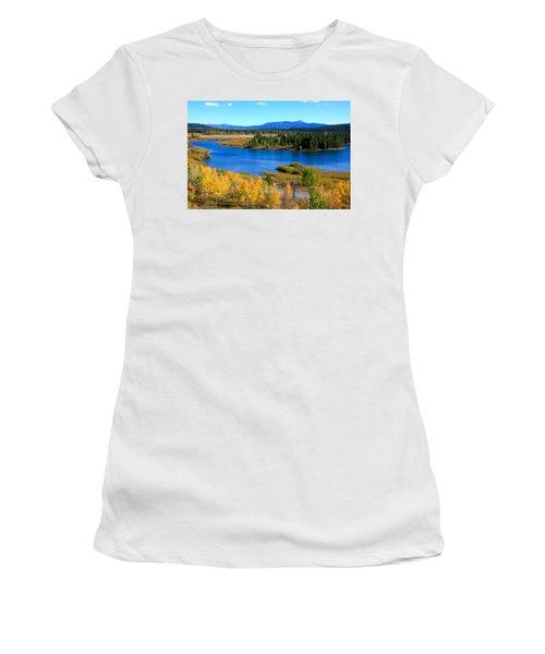 Oxbow Bend, Grand Teton National Park Women's T-Shirt