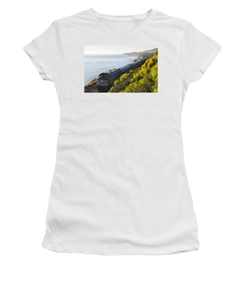 Pacific Surfliner Along The Central Coast Women's T-Shirt
